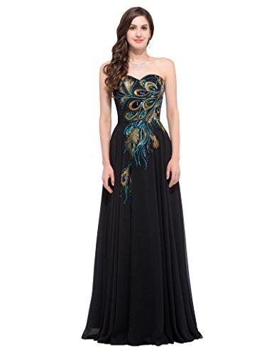Top 9 GRACE KARIN Abendkleid lang - Brautkleider - NosiYem
